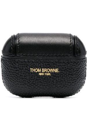 Thom Browne Man Mobilskal - AirPods Pro-fodral med kalvdetalj