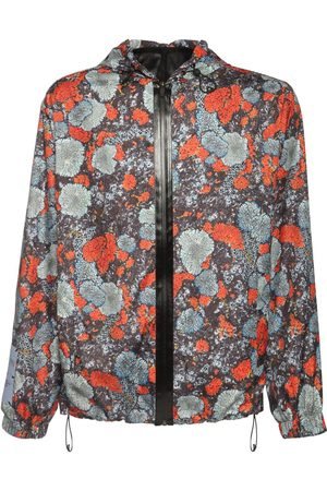 McQ Albion Printed Hooded Windbreaker
