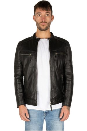Leather Hype Mystery Moon Leather Jacket