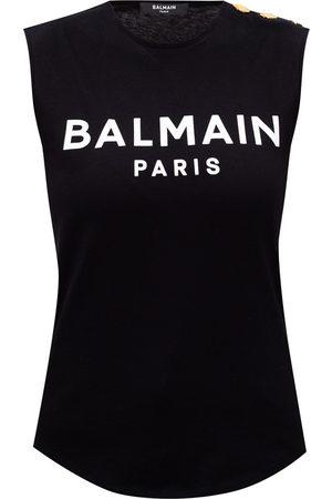 Balmain Sleeveless T-shirt