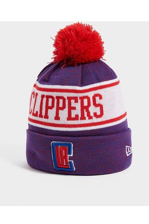 New Era NBA Los Angeles Clippers Pom Beanie Hat - Only at JD
