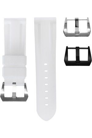 HORUS WATCH STRAPS 24MM WHITE SOLID