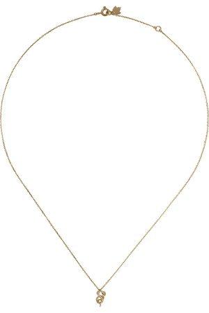 Feidt Paris Serpent Les Éternels diamanthalsband i 18K gult