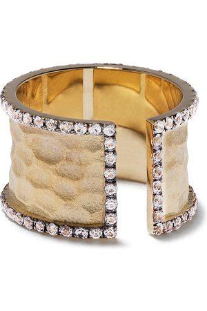 Feidt Paris Kvinna Ringar - Bandring i 9K gult med safir