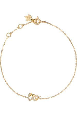 Feidt Paris Diamantarmband i 18K gult med orm