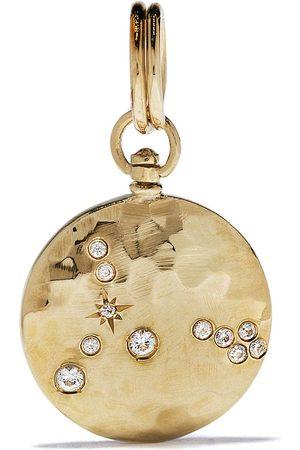 Feidt Paris Medaljong i 9K gult med safir