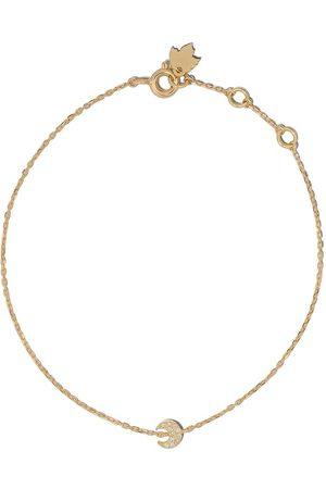 Feidt Paris Armband med diamanthänge i 18K gult