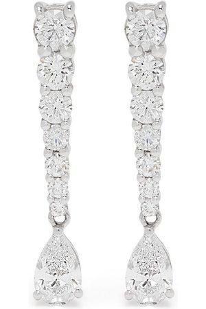 Stefere Diamantörhängen i 18K vitguld