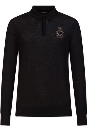 Dolce & Gabbana Långärmad skjorta med brodyr