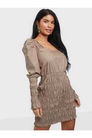 NLY Trend Kvinna Fodralklänningar - Body Smock Dress Fodralklänningar