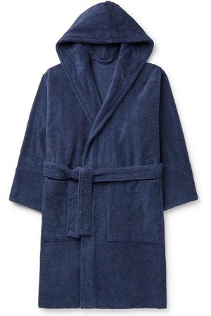 Tekla Organic Cotton-Terry Hooded Robe