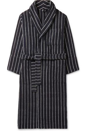 Tekla Striped Organic Cotton-Terry Robe