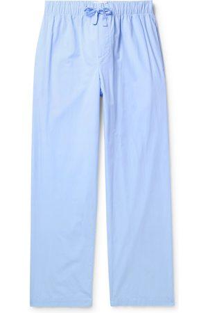 Tekla Man Pyjamas - Organic Cotton-Poplin Pyjama Trousers