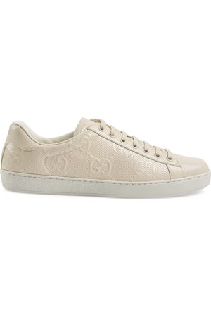Gucci Men's Ace GG embossed sneaker