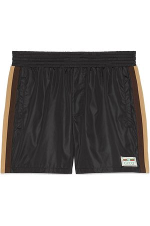 Gucci Swim shorts with label