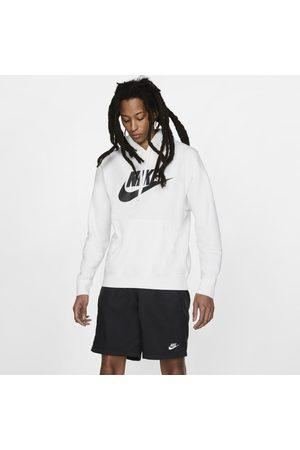 Nike Man Hoodies - Huvtröja Sportswear Club Fleece med tryck för män