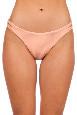 Billabong Under The Sun Lowrider Bikini Bottom neon peach