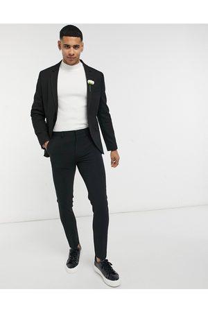 ASOS – Bröllop – kavaj med mikrostruktur och extra skinny passform, del av kostym