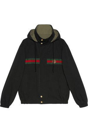 Gucci Reversible zip-up jacket