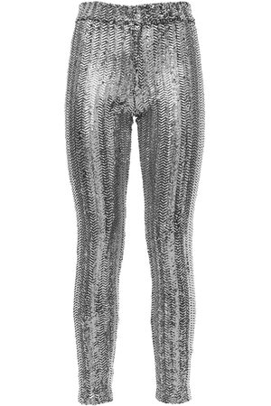 Isabel Marant Kvinna Slim - Todiz Sequined Skinny Pants