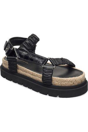 3.1 Phillip Lim Noa - Strappy Platform Slide Shoes Summer Shoes Flat Sandals