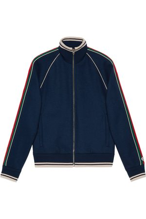 Gucci Cashmere zip-up jacket