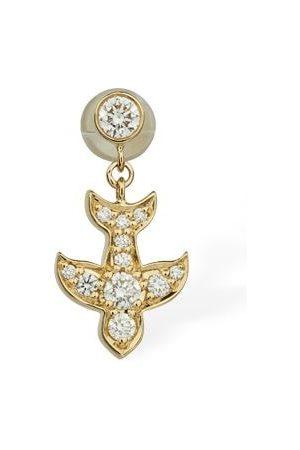 SOPHIE BILLE BRAHE 18kt Gold & Diamond Matisse Mono Earring