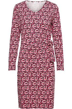Gerry Weber Dress Knitted Fabric Knälång Klänning Röd