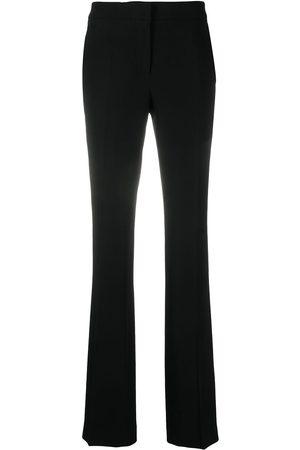 Moschino Kvinna Utsvängda byxor - Utsvängda byxor med hög midja