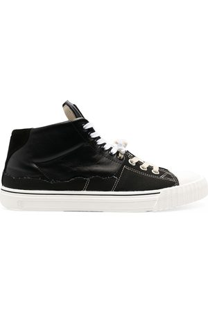 Maison Margiela X Converse höga sneakers