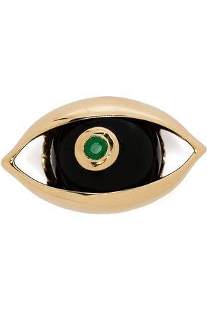 ZEEMOU ZENG Eye diamantbrosch i 18K gult