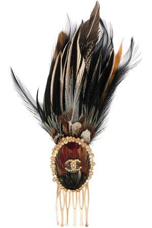 CHANEL Kvinna Håraccessoarer - Edinburgh hårkam med logotyp