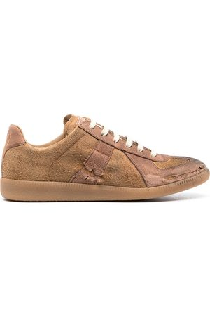 Maison Margiela Man Sneakers - Replica sneakers med slitning