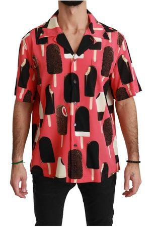 Dolce & Gabbana Ice Cream Print Casual Shirt