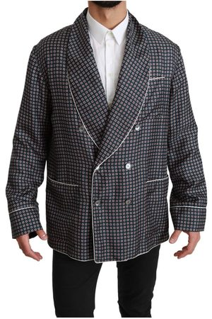 Dolce & Gabbana Patterned Double Breasted Jacket