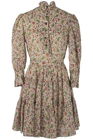 Etro Short Dress With Floral Print