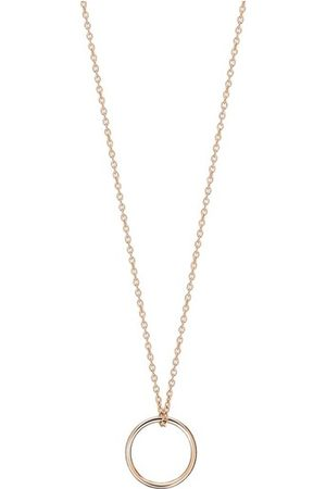 GINETTE NY Tiny Circle necklace