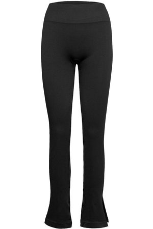 Casall Seamless Rib Slit Pants Running/training Tights