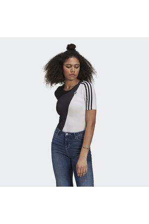 adidas Kvinna Playsuits - Adicolor Sliced Trefoil Bodysuit