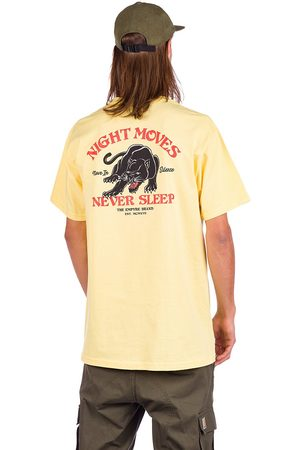 Empyre Man Kortärmade - Night Moves T-Shirt lt yellow