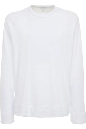 James Perse Man Sweatshirts - Cotton Raglan Sweatshirt
