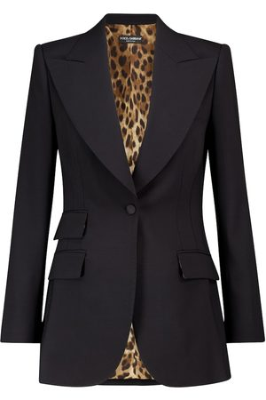 Dolce & Gabbana Kvinna Kavajer - Stretch-wool blazer