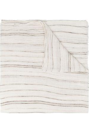 Brunello Cucinelli Sjal med skrynklad effekt