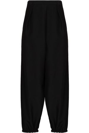 Saint Laurent Cropped wool-blend trousers