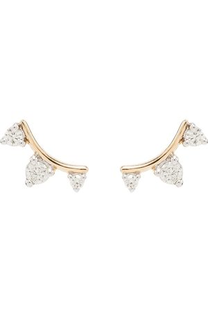 Adina Reyter Amigos 14-karat gold diamond earrings