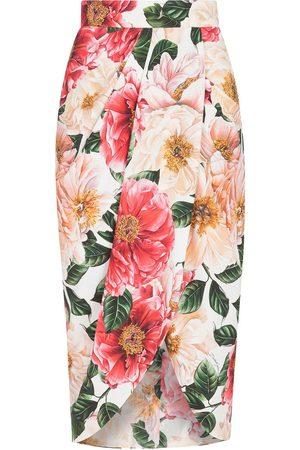 Dolce & Gabbana Floral-print skirt