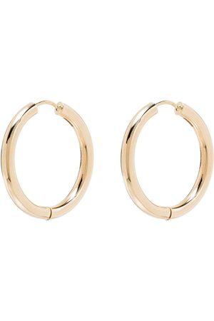 Adina Reyter 14-karat yellow gold hoop earrings