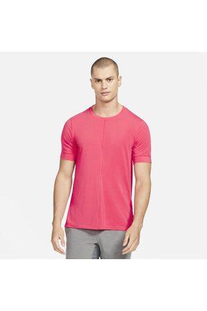 Nike Kortärmad tröja Yoga Dri-FIT för män