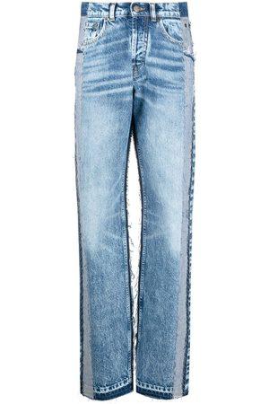Maison Margiela Jeans med hög midja och panel