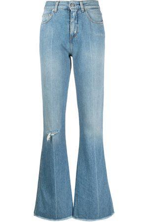 Golden Goose Flare-jeans med slitning